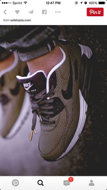 shoes nike air brown nike air khaki nike nike running shoes nike air max 1 nike air max 90 zigzag print green shoes air max brown running shoes nike shoes adidas adidas shoes low top sneakers brown