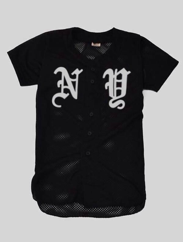 shirt jersey baseball jersey yankees