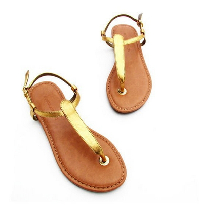 T-strap Flip-Flops Sandals