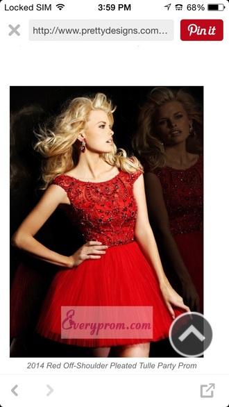 dress red dress prom dress