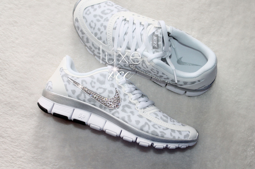 Nike Free Run 5 White Cheetah  236126f81