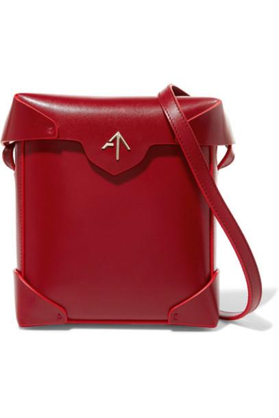 manu atelier mini bag shoulder bag leather