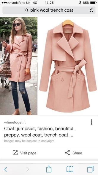 jacket olivia pink coat