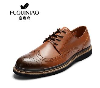 shoes brogue shoes wingtip genuine leather men shoes oxfords men shoes oxfords dress shoes