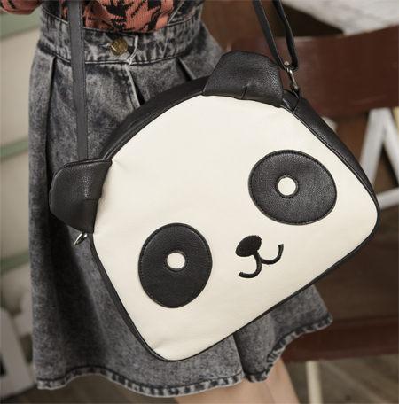 Yumart | Monochrome Panda Satchel