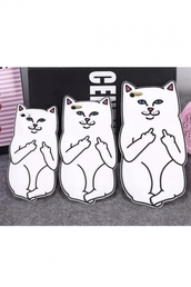phone cover,cats,cool,fashion,white,iphone case,teenagers,funny,beautifulhalo