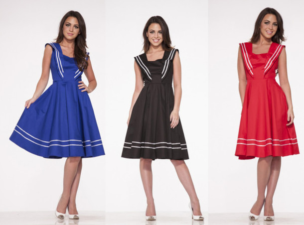 35d5eccab4 50s style 50s dresses Pin up Pin up cute dress vintage dress party dress Pin  up