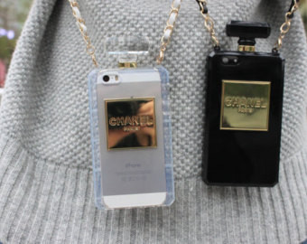 Chanel perfume iphone samsung galaxy note case no 5