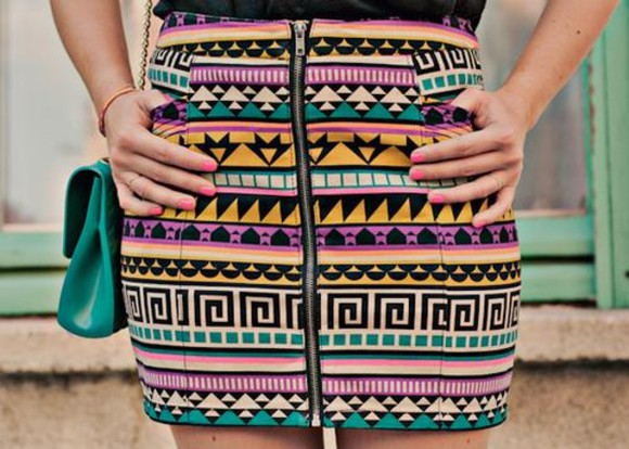 skirt aztec aztec skirt tribal tribal skirt