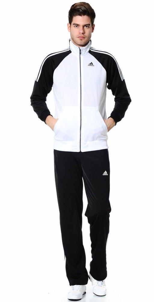 : adidas hombre  Riberio Track chaqueta y pantalones medio