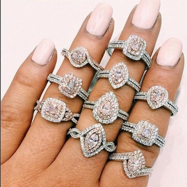 jewels ring ring bague wedding pierre mariage aliexpress - Aliexpress Mariage