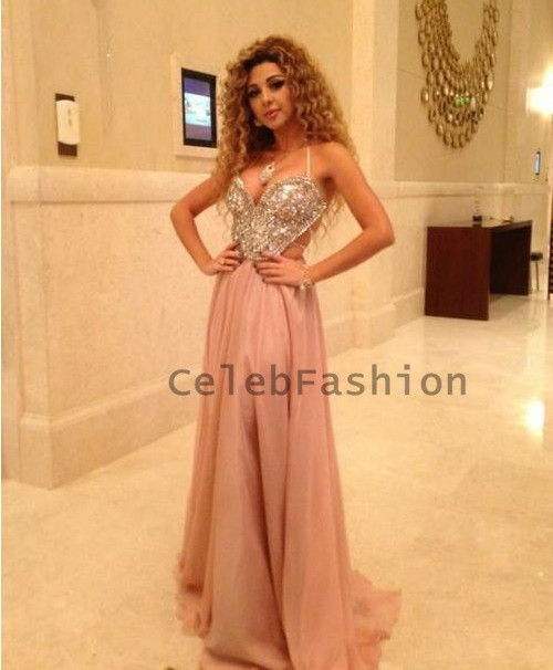 Aliexpress.com : Buy Prom Dress Arab Singer Myriam Sexy Sweetheart Crystal Beaded Bodice A Line Red Carpet Dress Celebrity Dress Evening Dress from Reliable dress up dress suppliers on CelebFashion