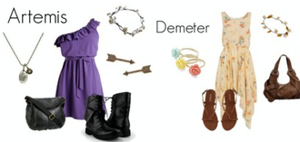 jewels purple floral braclet boots sandals arrow earings dress necklace bag shoes hair accessory