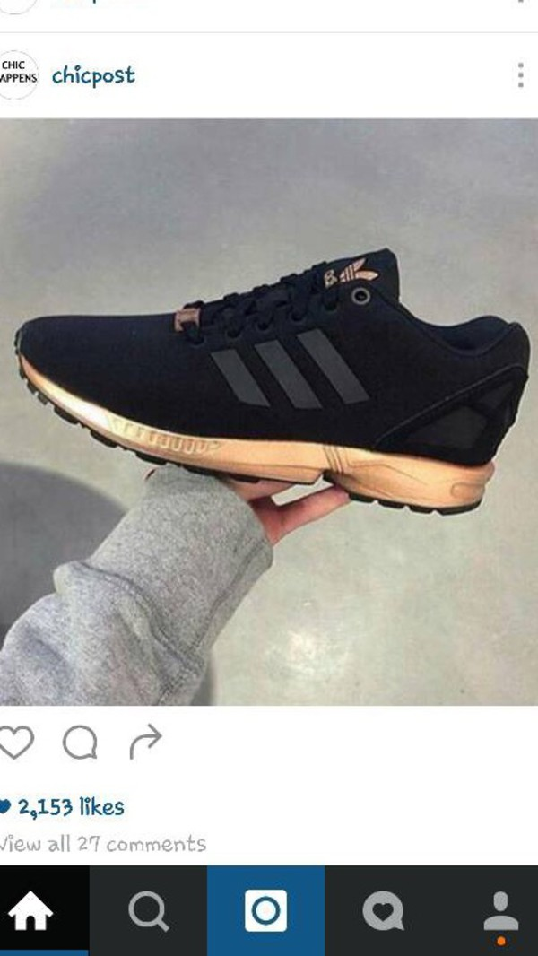 Adidas Flux Rose Gold Ebay