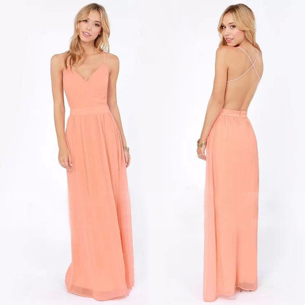 Zahra maxi dress