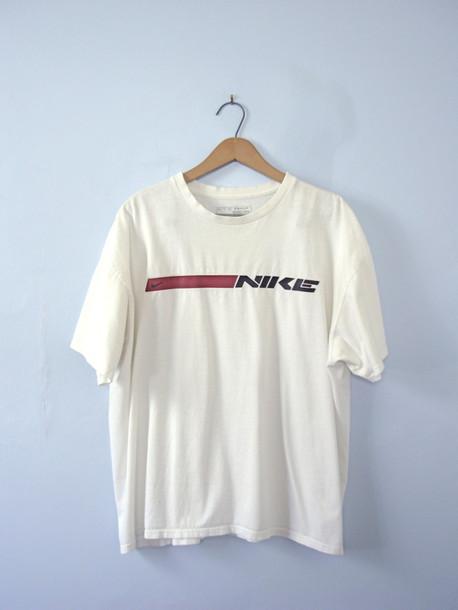 49dce6387 shirt nike shirts nike shirt grunge grunge top 90s style 90s grunge vintage  shirt vintage top