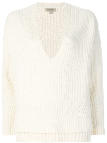 sweater women white wool knit