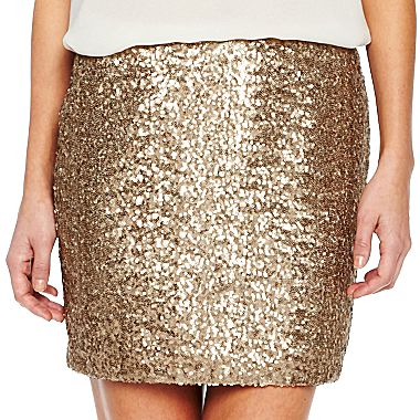 1a8630818 i jeans by Buffalo Sequins Skirt - jcpenney