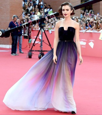 dress lilly collins lilly collins dress