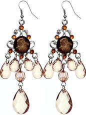 jewels,chandelier  earrings,beaded earrings,candyluxx