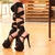 2014 summer fashion special occasion shoes sexy knee high sandals black size 35 39 3017-in Sandals from Shoes on Aliexpress.com