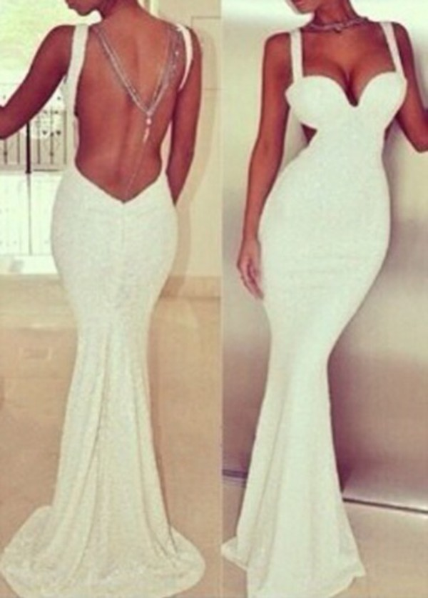 prom dress dress long prom dress white dress