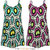WOMENS PLAYSUIT LADIES SLEEVELESS PRINTED SUMMER TOP ALL IN ONE JUMPSUIT | eBay