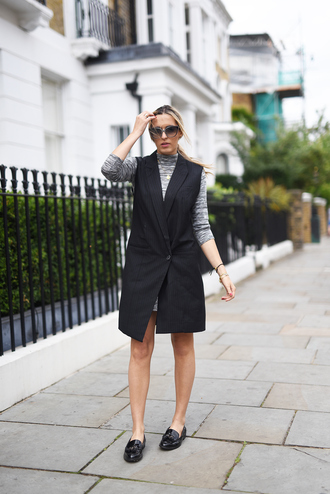 camila carril blogger loafers zara shoes