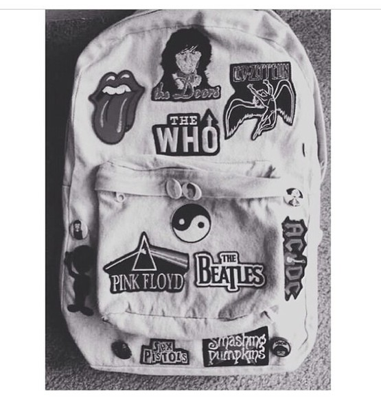 90's 90s 90s grunge bag band bands backpack 80's 80s punk 80s 90s 80s 80s bands girly, grunge, cute, nirvana, 90s grey, fluffy, cool, cute, 90s, goth, pastel goth, awesome 90s, vintage patches denim rolling stones the rolling stones rolling stones crop tank top, beanie the who