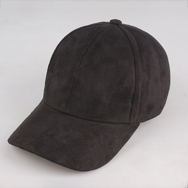 Online Shop 2016 Fashion Brand snapback Baseball Cap Women Gorra cap Street  Hip Hop Caps Suede Hats for Ladies Black ... d5b21f72069