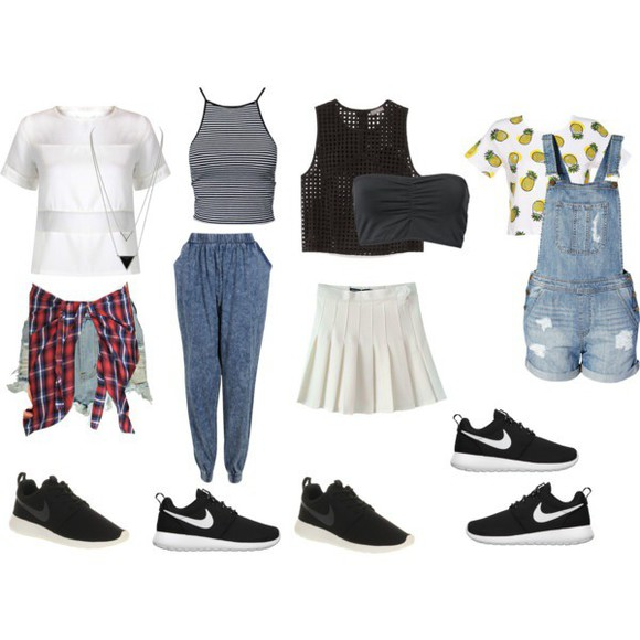 overalls outfit harlem pants blouse