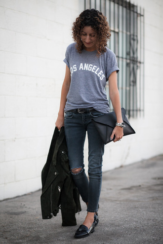 alterations needed blogger jeans shoes bag jewels belt