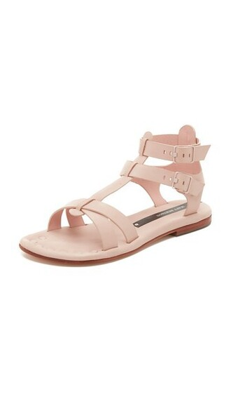 sandals blush shoes