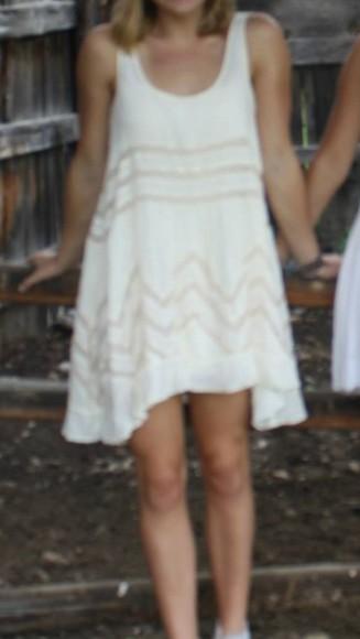 dress white dress flowy dress flowy white