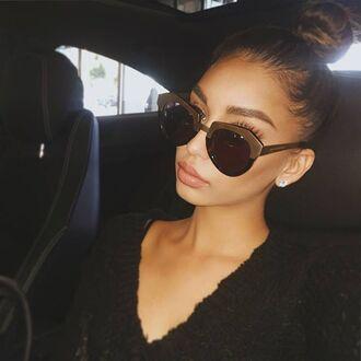 sunglasses maniere de voir st tropez gold tortoishell tortoise eyewear janice joostema
