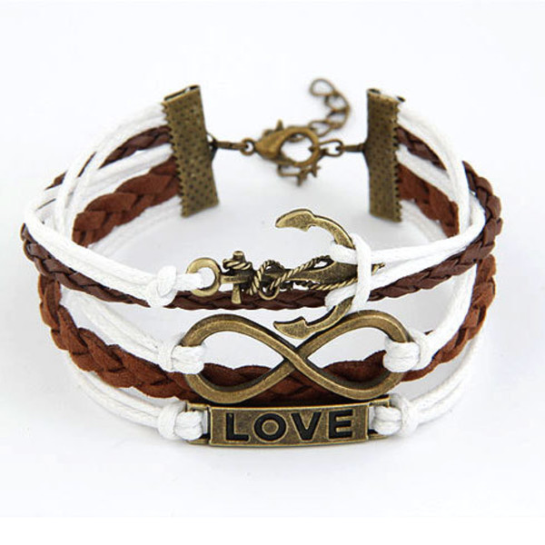 jewels bracelets love boat mixed color