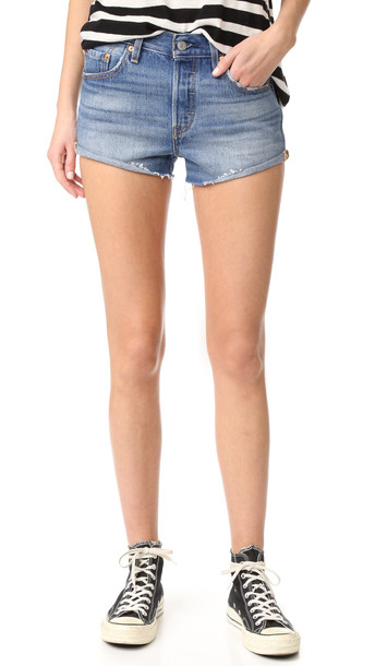 Levi'S 501 Shorts - Blue Explorer