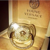 jewels,baby,fashion,style,versace,boy,dummy,gold,home accessory