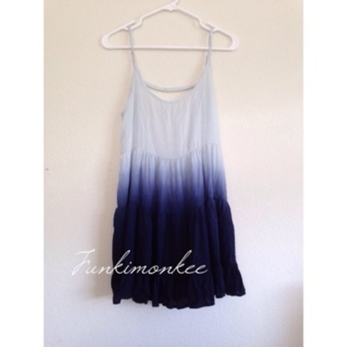 Brandy melville blue ombré jada dress