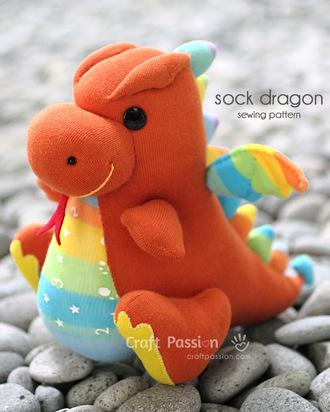 socks sock dragon dragon adorable stuffed dragon