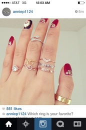 jewels,ring,gold ring,arrow,the bling ring,rings and tings,silver ring,knuckle ring,diamond ring