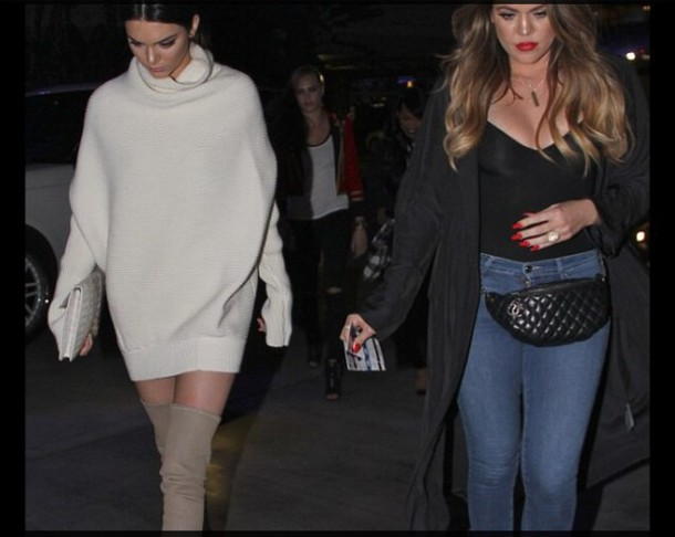 dress sweater kendall jenner creme colored creme dress