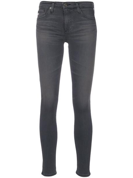 ag jeans jeans skinny jeans women spandex cotton grey