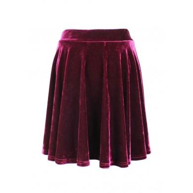 Velvet Triumph Skirt (Wine)