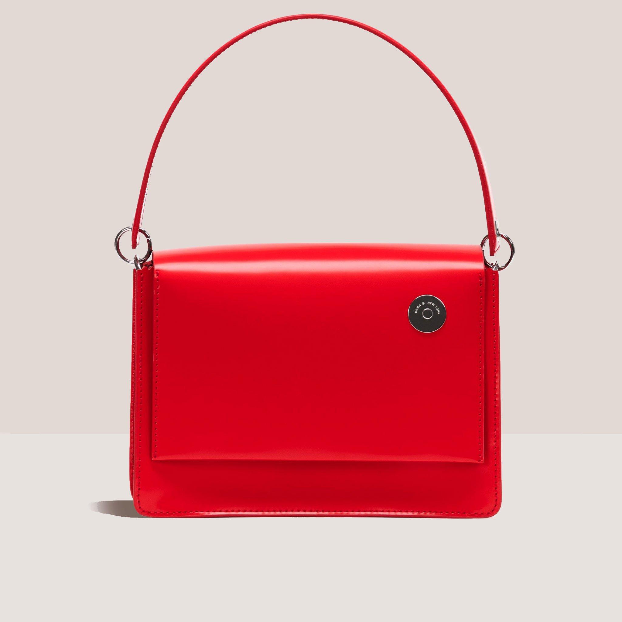 Pinch Shoulder Bag - Red