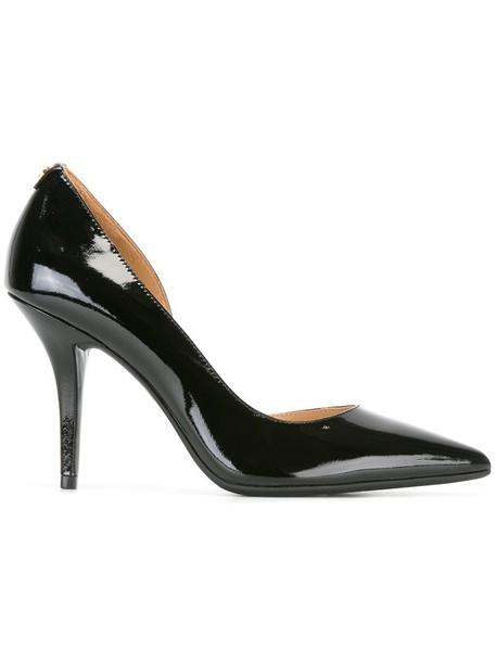 MICHAEL Michael Kors women pumps leather black shoes