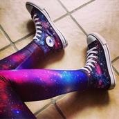 leggings,space,spaceleggings