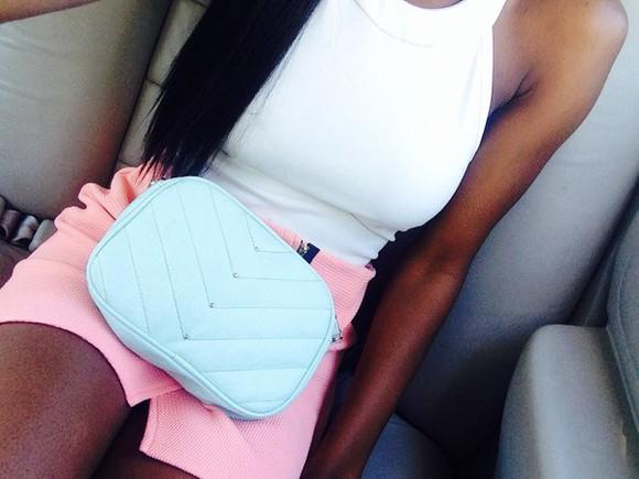 white top bag mint bag