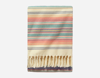 home accessory blanket stripes fringes boho decor gift ideas