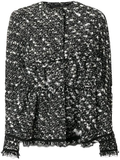 GIAMBATTISTA VALLI jacket women cotton black wool